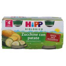 HIPP BIO OMOGENEIZZATO DI ZUCCHINE E PATATE 2 X 80G Omogeneizzati di verdura