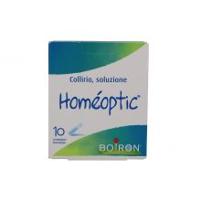 HOMEOPTIC COLLIRIO MONODOSE 10 FIALE DA 0,4ML Colliri