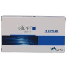 IALURET SUPPOSTE 10 PEZZI Prodotti per emorroidi
