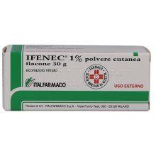 IFENEC* POLVERE CUTANEA 1% 30G Lozioni e polveri per la pelle