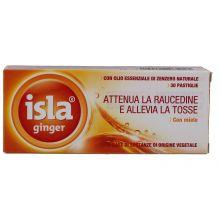 ISLA GINGER 30 PASTIGLIE Regolarità intestinale e problemi di stomaco