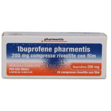 Ibuprofene Pharmentis 24 Compresse Rivestite 200 mg 039371051 Ibuprofene