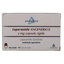 Loperamide Angenerico 10 Capsule 2 mg 024455040 Farmaci Antidiarroici