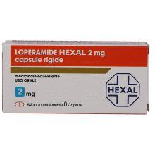 Loperamide Hexal 8 Capsule 2 mg Farmaci Antidiarroici
