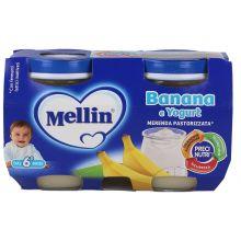 MELLIN MERENDA YOG BAN 2X120G Merende per bambini