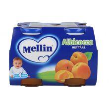 MELLIN NETTARE ALB 4X125ML Succhi di frutta per bambini