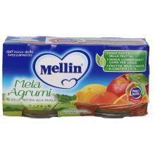 MELLIN OMOG MELA/AGR 2X100G Omogeneizzati