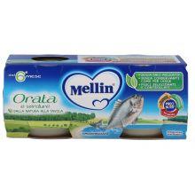 MELLIN OMOG ORATA 2X80G Omogeneizzati di pesce