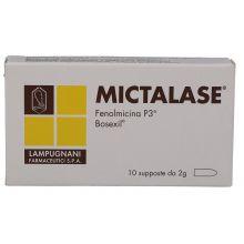MICTALASE 10SUPPOSTE 2G Prodotti per emorroidi