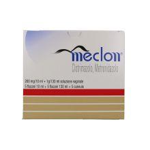 Meclon Soluzione vaginale 5 Flaconi 130ml Schiume, lavande e detergenti vaginali