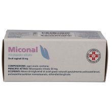 Miconal 15 Ovuli vaginali 50mg Composizione Capsule e ovuli