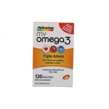 Multicentrum My Omega 3 120 Perle  Colesterolo e circolazione