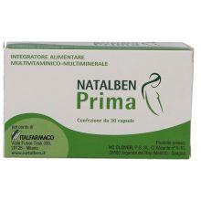 NATALBEN PRIMA 30CPS Integratori per gravidanza e allattamento