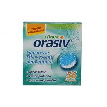 ORASIV CLINEX 56CPR EFFERVESC Prodotti per dentiere e protesi dentarie