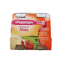 PLASMON NETTARE MELA 125MLX4PZ Succhi di frutta per bambini