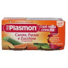 PLASMON OMOG CAR/PAT/ZUC80GX2P Omogeneizzati di verdura