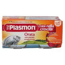 PLASMON OMOG ORATA 80GX2PZ Omogeneizzati di pesce
