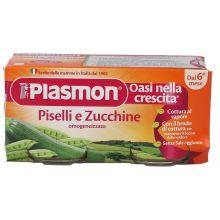 PLASMON OMOG PISEL/ZUCCH80GX2P Omogeneizzati di verdura