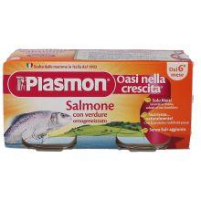 PLASMON OMOG SALMO/VERD 80GX2P Omogeneizzati di pesce