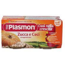 PLASMON OMOG ZUCCA/CECI 2X80G Omogeneizzati di verdura