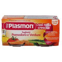 PLASMON SUGH POMOD/VERD80GX2PZ Sughi per bambini
