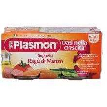 PLASMON SUGH RAGU' MANZO80GX2P Sughi per bambini