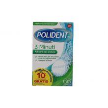 POLIDENT 3 MINUTI 66CPR Prodotti per dentiere e protesi dentarie