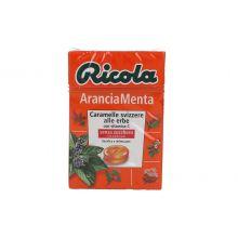 RICOLA ARANCIA MENTA S/ZUCC50G Caramelle e gomme da masticare