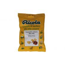 RICOLA CRISTALLO ZUCCH ERBE78G Caramelle e gomme da masticare