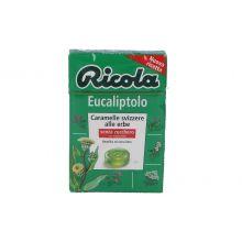 RICOLA EUCALIPTOLO S/ZUCCH 50G Caramelle e gomme da masticare