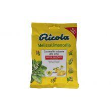 RICOLA MELISSA LIMONC S/ZUC70G Caramelle e gomme da masticare