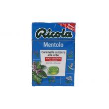 RICOLA MENTOLO S/ZUCCHERO 50G Caramelle e gomme da masticare