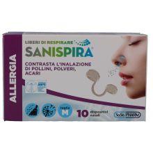 SANISPIRA ALLERGIA NAS M 10PZ Filtri nasali