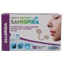 SANISPIRA ALLERGIA NAS S 10PZ Filtri nasali