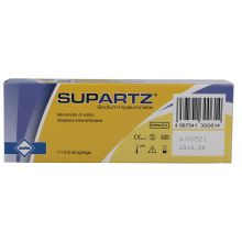 Supartz Siringa Intrarticolare 2,5ml 1 Pezzo Infiltrazioni per ginocchio e articolazioni