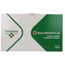 VERAX INTIMO* 5 FLACONI 140ML+ 5 CANNULE Schiume, lavande e detergenti vaginali