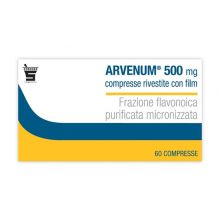 ARVENUM*60 COMPRESSE RIVESTITE 500MG Altri disturbi