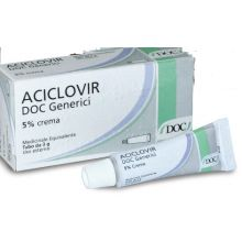 Aciclovir Doc* Crema 3G 5% Pomate, cerotti, garze e spray dermatologici