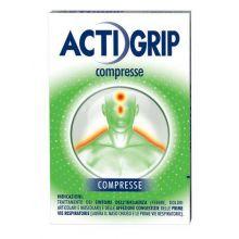 Actigrip 12 Compresse 024823066 Farmaci per curare  raffreddore e influenza