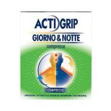 Actigrip Giorno e Notte 12+4 Compresse 035400023 Farmaci per curare  raffreddore e influenza