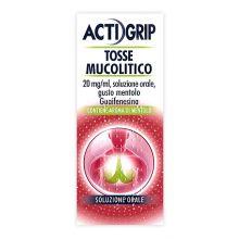 Actigrip Tosse Mucolitico Flacone 150 ml 041772017 Mucolitici e fluidificanti