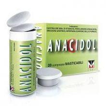 Anacidol 20 Compresse Masticabili Tubo 020497032 Antiacidi