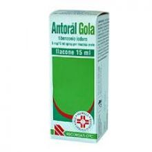 Antoral Gola Spray 15 ml 023497098 Farmaci per mal di gola