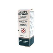 Argento Proteinato 0,5% 10 ml 030322010 Farmaci Per Naso Chiuso E Naso Che Cola