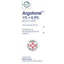 Argotone Gocce Rinologiche 20 ml 003950019 Farmaci Per Naso Chiuso E Naso Che Cola