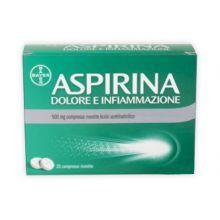 Aspirina Dolore Infiammazione 8 Compresse 500 mg 041962010 Farmaci Antidolorifici