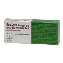 BECOZYM* 20 COMPRESSE GASTRORESISTENTI Tonici, vitaminici e sali minerali