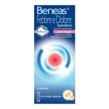 Beneas Febbre Dolore Bambini 150 ml Fragola 041299013 Farmaci per curare  raffreddore e influenza