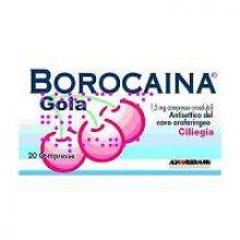 Borocaina Gola 20 Pastiglie 1,5 mg Ciliegia 032053023 Farmaci per mal di gola