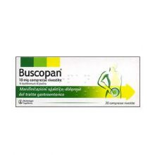 Buscopan 30 Compresse Rivestite 10 mg 006979025 Antispastici